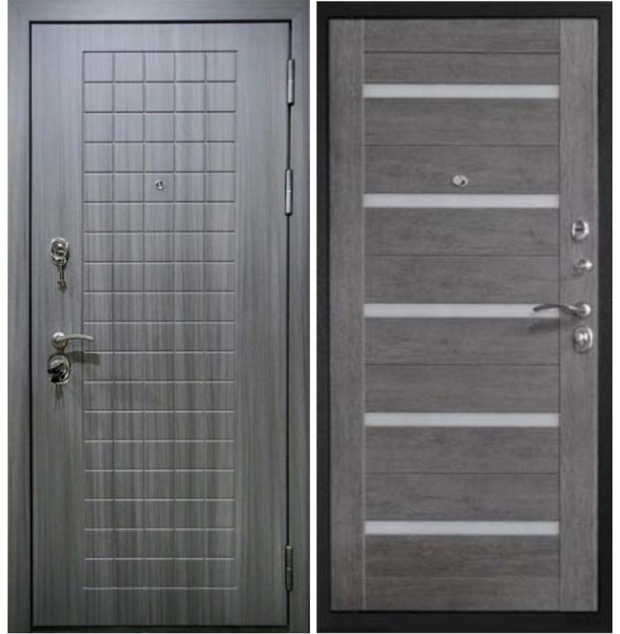 Входная дверь Райтвер С7 Царга Серый