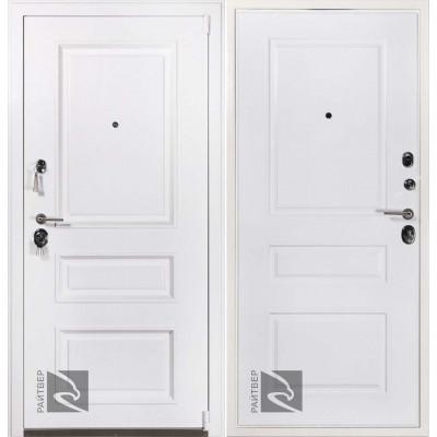 Входная дверь Райтвер Прадо муар белый