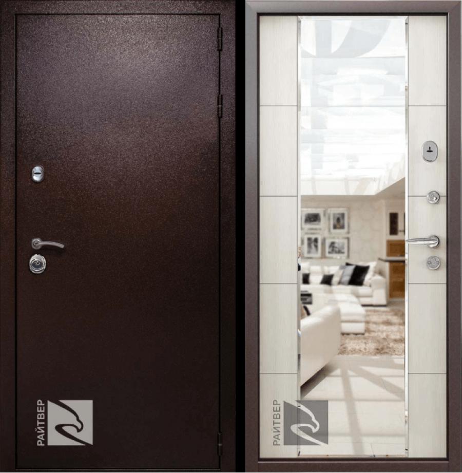 Входная дверь Райтвер Президент Меланж светлый
