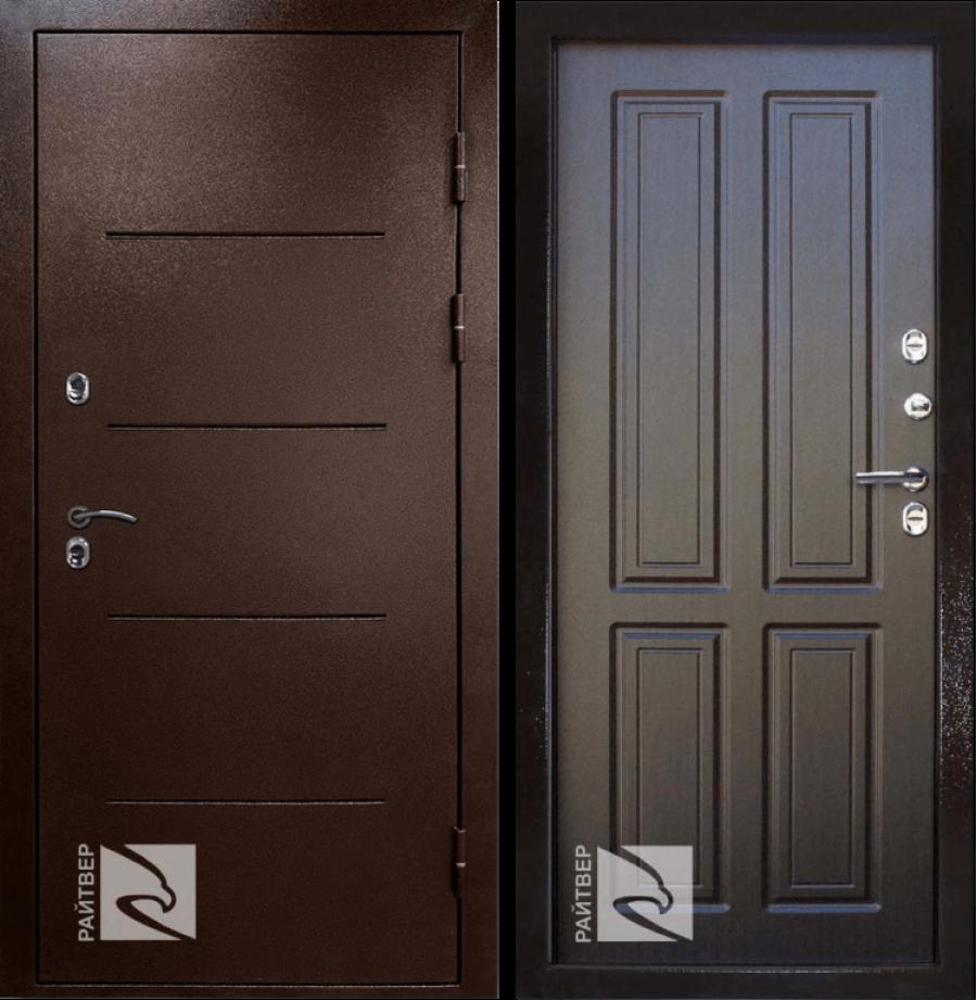 Входная дверь Райтвер ТЕРМО Терморазрыв венге