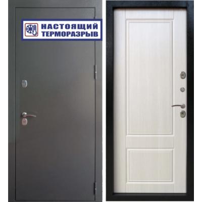 Уличная входная дверь Райтвер Сибирь Термо Клён