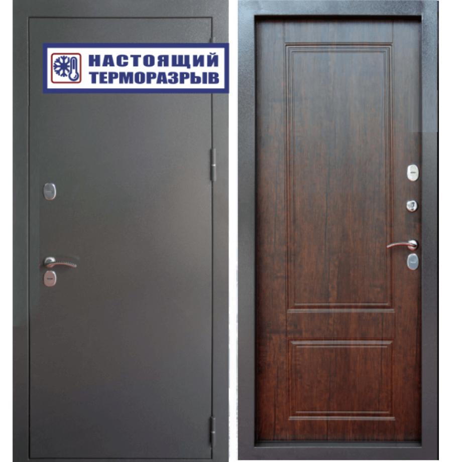 Входная дверь Райтвер Сибирь Термо Тиковое дерево